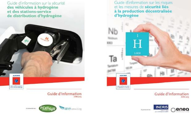 Guide risques mesures securite production decentralisee hydrogene Guide securite vehicules hydrogene stations-service distribution hydrogene recharge